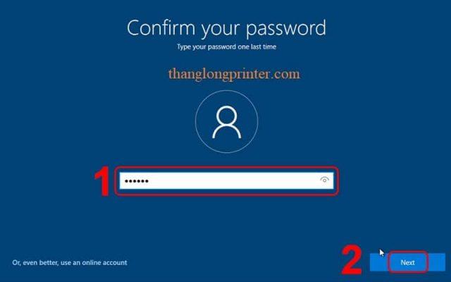 đặt mật khẩu cho máy tính
