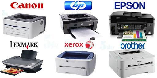 sửa máy in tại nhà các dòng máy in