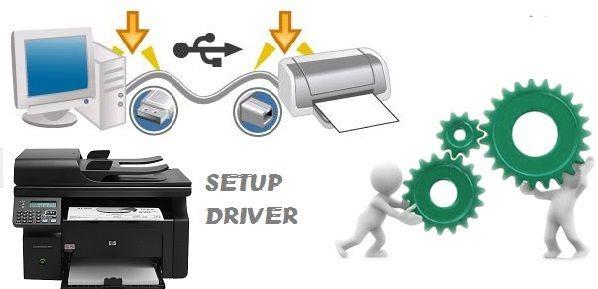 Sửa máy in ra giấy trắng bằng cách setup driver