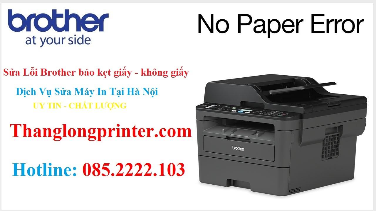 brother printer paper jam error